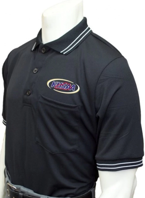 Kentucky KHSAA Black Umpire Shirt