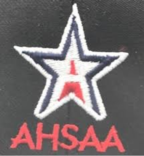 Alabama AHSAA Black Fitted Wool 4-stitch Umpire Plate Cap
