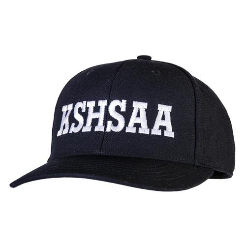 Kansas KSHSAA Navy Flex-fit Umpire Cap