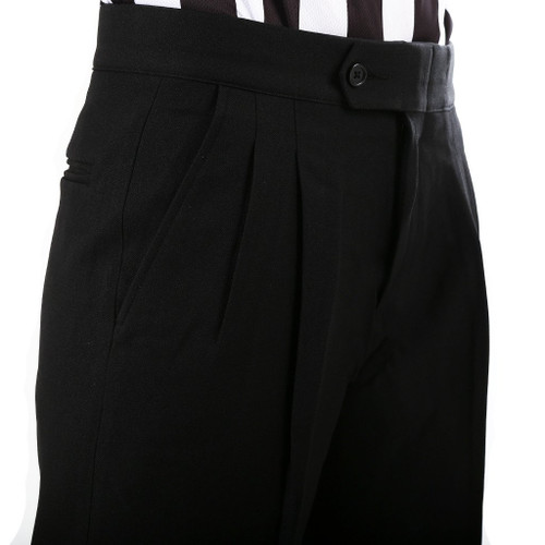 Smitty Pleated Premium 4-Way Stretch Tapered Fit Referee Pants