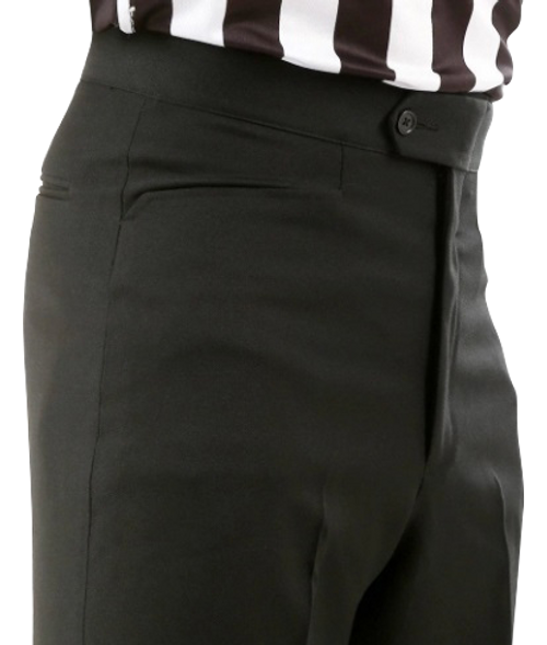 Smitty Flat Front Western Pocket Premium 4-Way Stretch Tapered Fit Referee Pants
