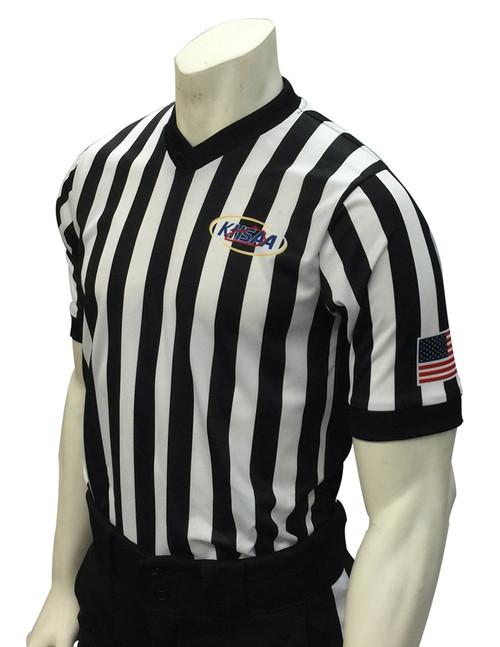 Smitty Official's Apparel Kentucky KHSAA Body Flex® Side Panel Basketball Referee Shirt
