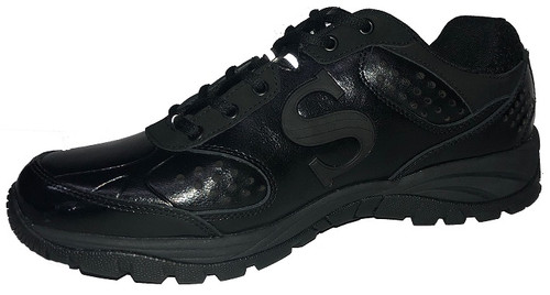 Smitty All-Black Umpire Field Shoes