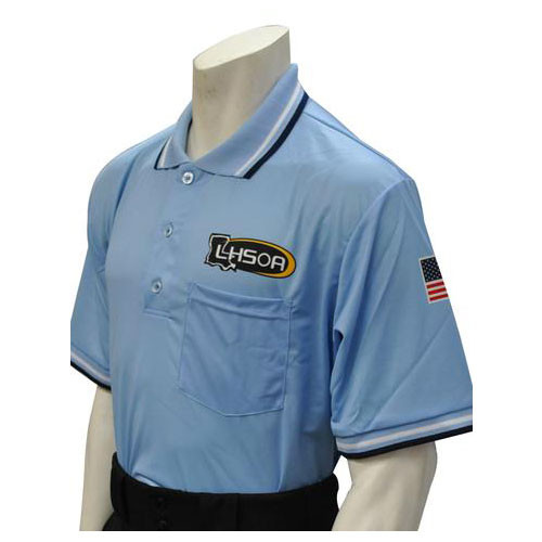 Honig's Louisiana LHSOA Embroidered Powder Umpire Shirt