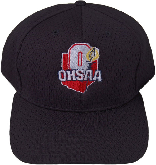 Ohio OHSAA Fitted Mesh 8-stitch Umpire Cap