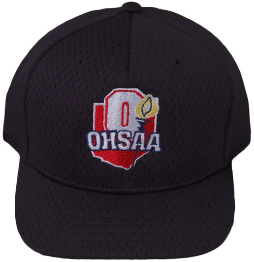 Ohio OHSAA Fitted Mesh 4-stitch Umpire Cap
