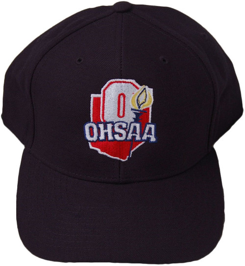 Ohio OHSAA Fitted Wool 8-stitch Umpire Cap