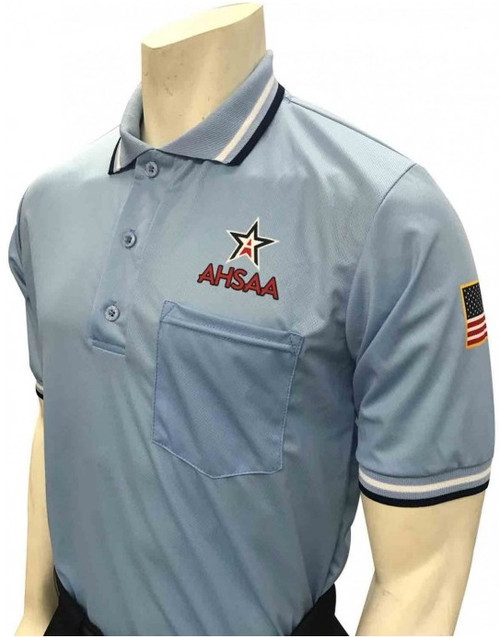 Alabama AHSAA Dye Sublimated Powder Umpire Shirt
