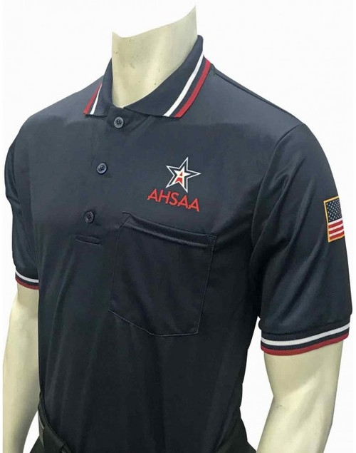 Alabama AHSAA Dye Sublimated Navy Blue Umpire Shirt