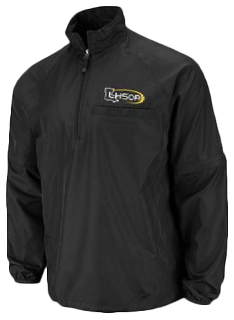Louisiana LHSOA Black Convertible Umpire Jacket