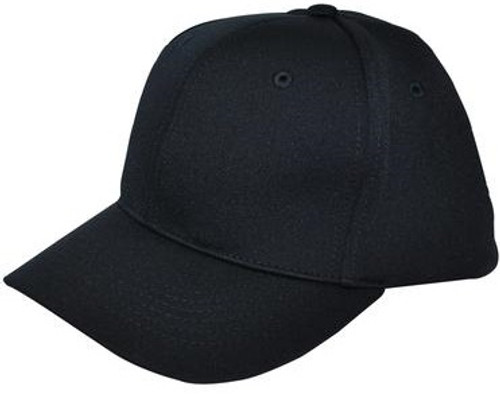 Smitty Black Flex-Fit Umpire Combo Cap