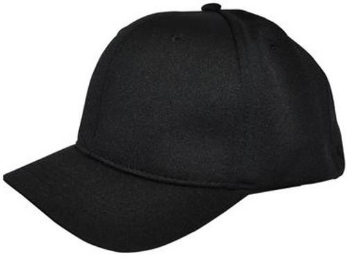 Smitty Black Flex-Fit Umpire Plate Cap