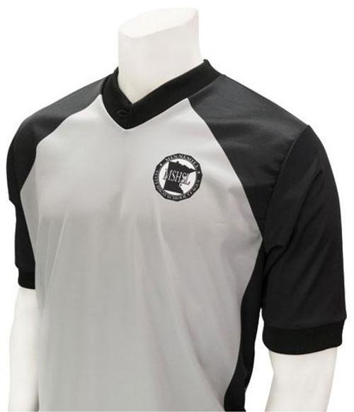 Smitty Official's Apparel Minnesota Men's Body Flex® Basketball and Wrestling Referee Shirt