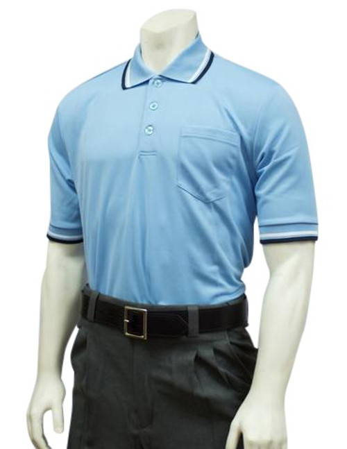 Smitty Official's Apparel Powder Blue Ultra Mesh Umpire Shirt