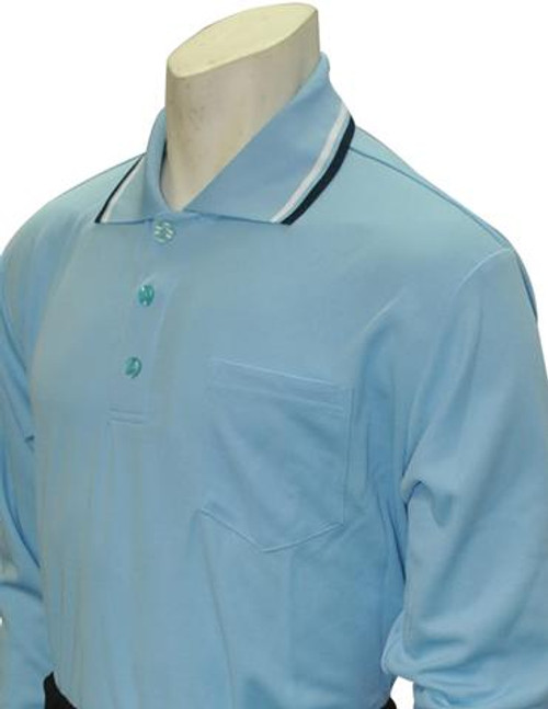 Smitty Powder Blue Long Sleeve Umpire Shirt