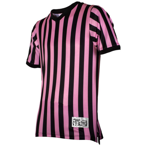 Honig's Pink Basketball Referee Shirt