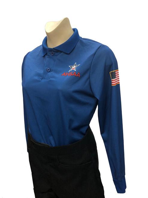 Alabama AHSAA Women's Long Sleeve Volleyball Referee Shirt