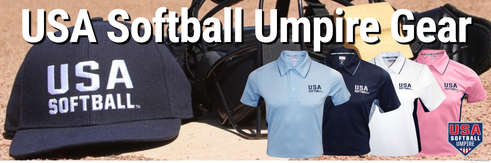 USA Softball Umpire Gear