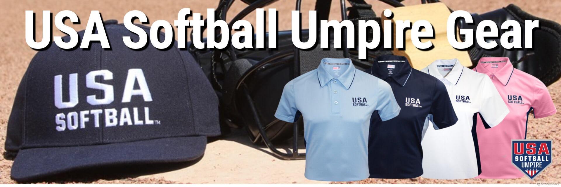 USA Softball Umpire Gear