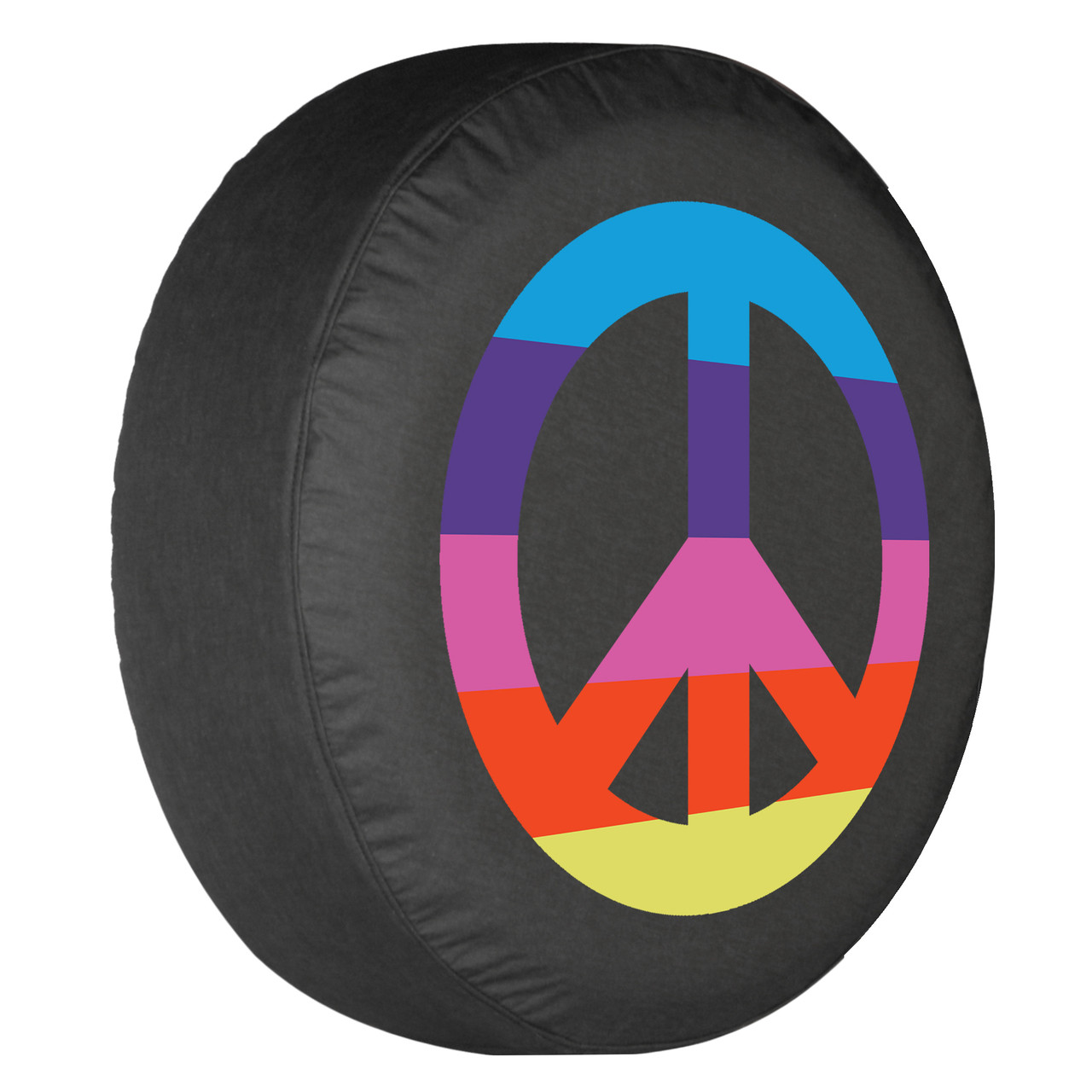 """Car Rear Wheel Spare Tire Cover For One Life Live IT Logo Soft Vinyl 31/"""" 32/"""" 33/"""""""