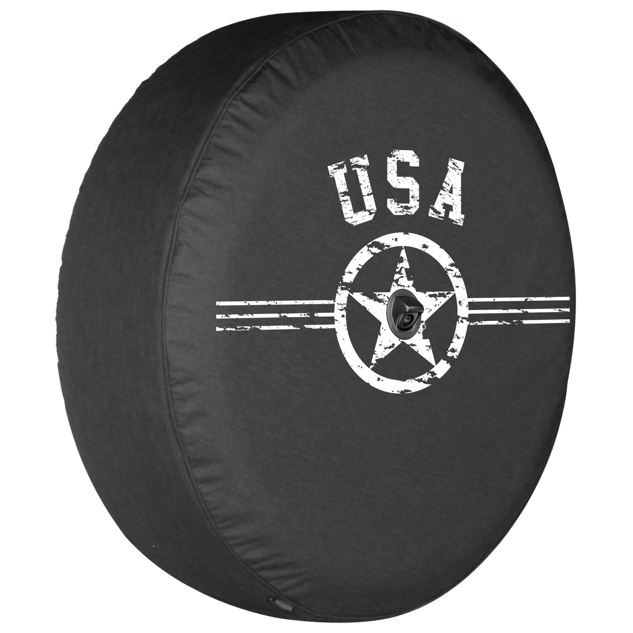 Jeep Wrangler JL Soft Tire Cover - Air Force Star USA