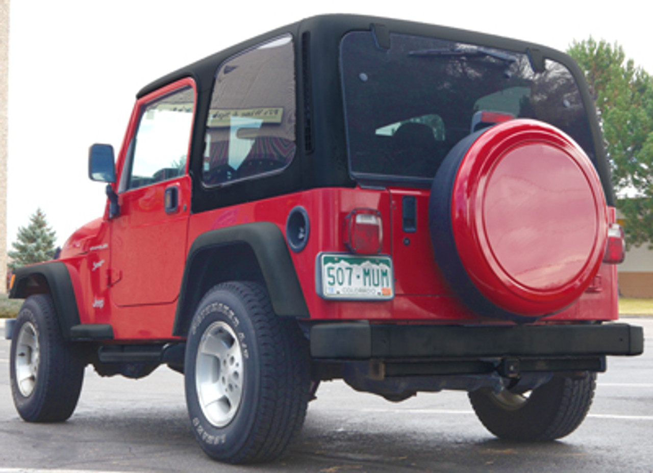 Masterseries Lockable Hard Tire Covers By Boomerang 2007 2013 Jeep Wrangler Jk Polished Stainless Steel Ring
