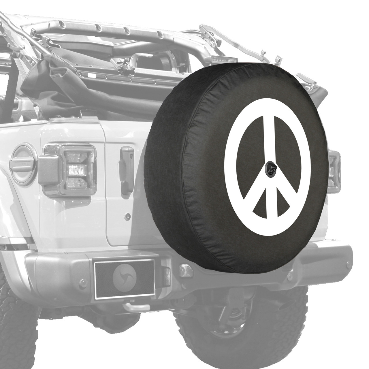 Peace Off jeep tire cover