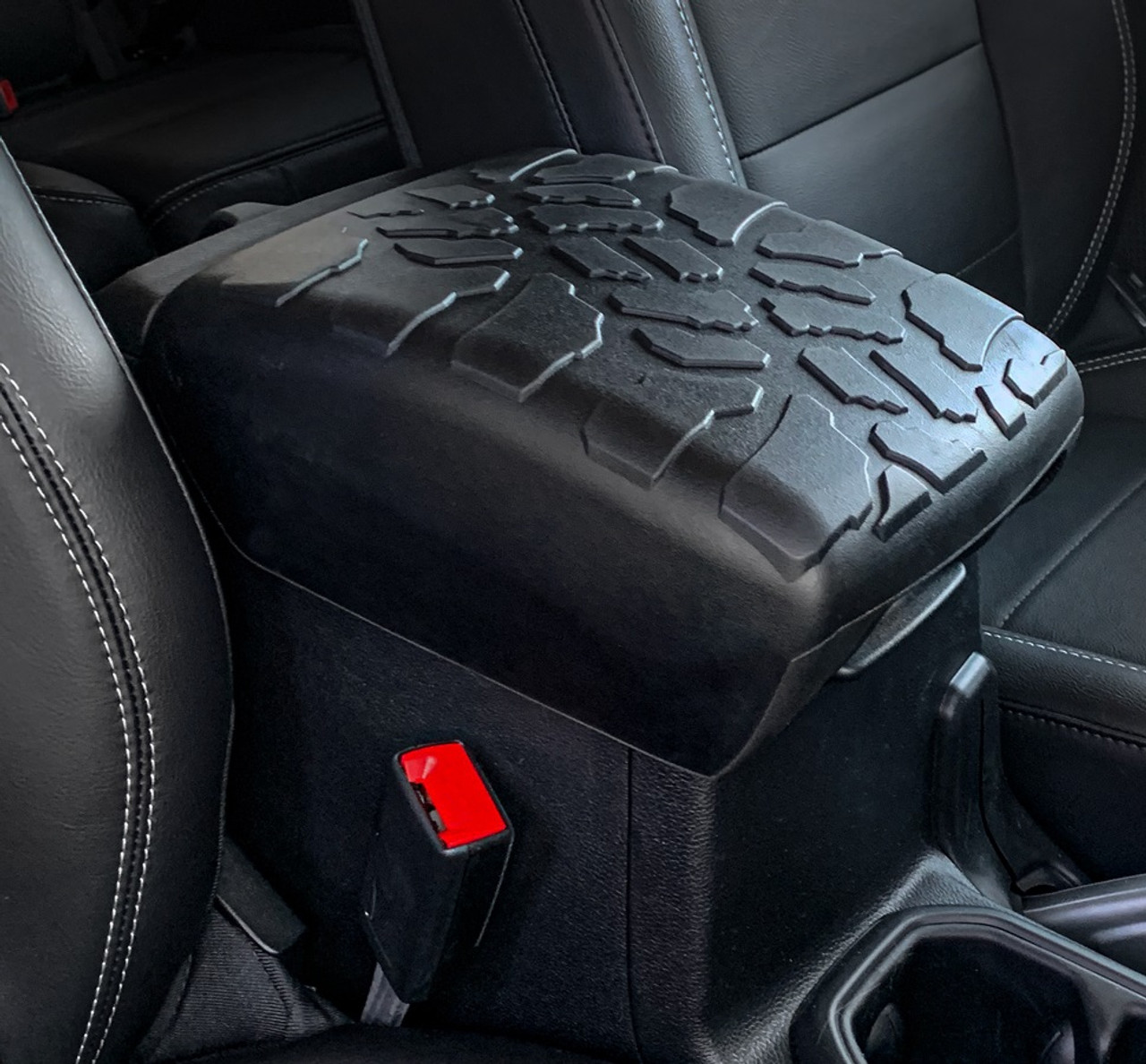 Awesome Tire Tread Armpad Center Console Cover Jeep Wrangler Jl 2018 Center Console Armrest Short Links Chair Design For Home Short Linksinfo