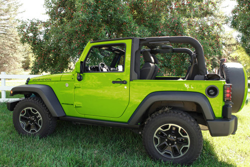 Green Jeep Wrangler >> Colorpro Mirror Caps Painted To Match 2007 2017 Jeep Wrangler