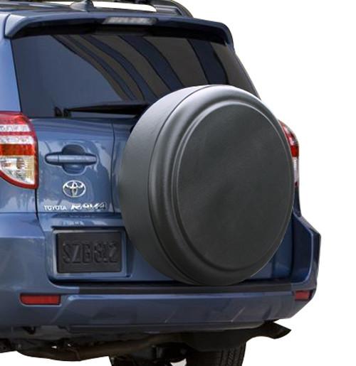 - Black Textured - 29 Rigid Tire Cover - Hard Plastic Face /& Vinyl Band Toyota RAV4 2006-2012