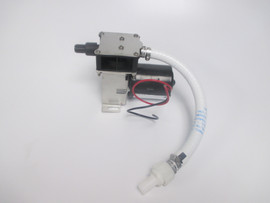 Complete air pump assy. for Vacuum Holding Tank. Shown with the updated remote check valve