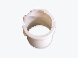 Pedestal cover for model 08 toilets in White