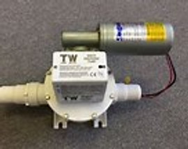 Sealand T-24 Volt Discharge Pump Runs dry without ant damage