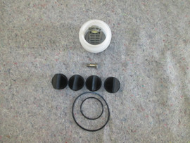 """J series Vacuum pump repair kit.  Includes the Bellows , $ 2 """" duck bill valves and the o-ring kit"""
