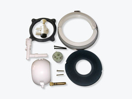 Complete rebuild kit for Model 506 and 511 Sealand toilets