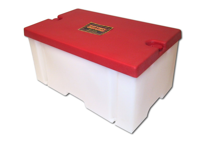 Battery Guard 08001 Premium 8-d battery box