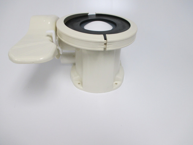 Sealand Eco Vac base assy. Bone color Fits model 149 with left hand hose discharge