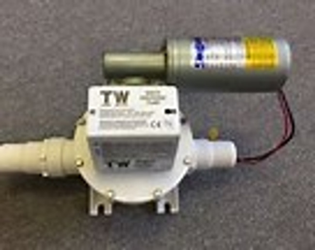 Sealand T-24 Volt Discharge Pump Runs dry without ant damage