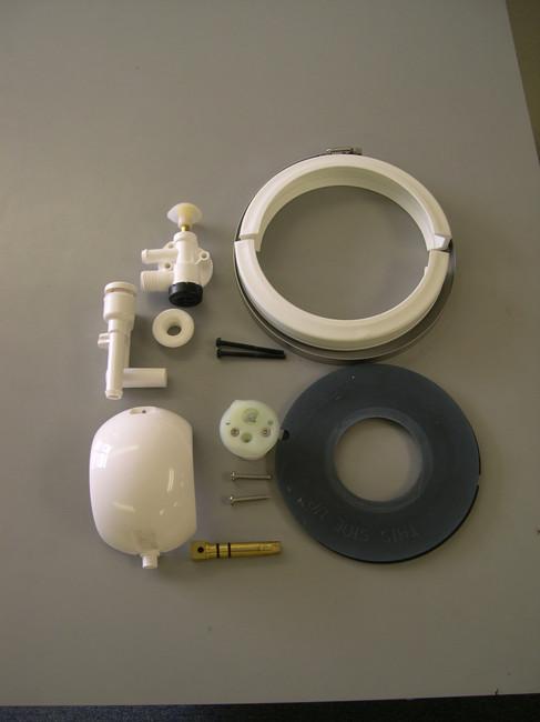Sealand Vacuflush toilets and accessories