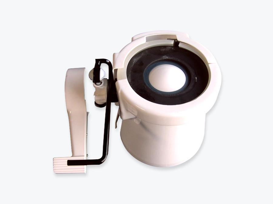 Sealand Toilet Short Base Cover Kit White 385310108