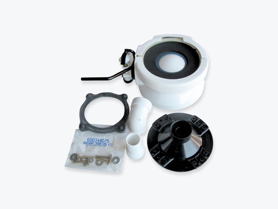 SeaLand / Dometic 385310133- 06 Marine Toilet Base Kit complete - Bone