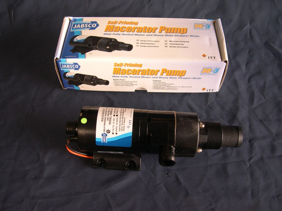 Jabsco Macerator Pump 12VDC Also Available in 24VDC  Part # 18590-2094