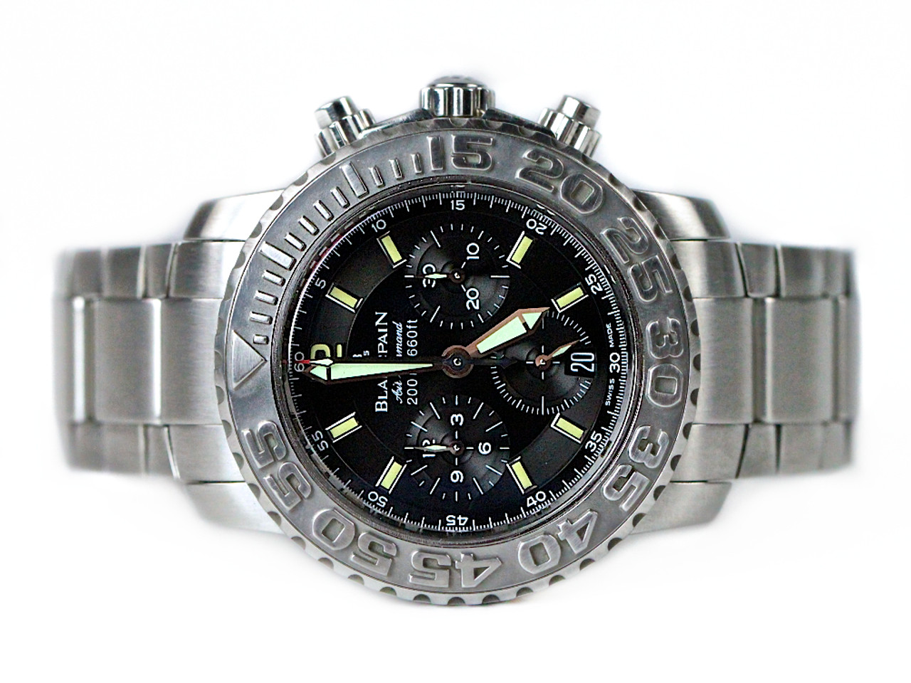 Blancpain Watch Air Command Flyback Chronograph 2285f 1130 71 Used For Sale From Legend Of Time Chicago Watch Center