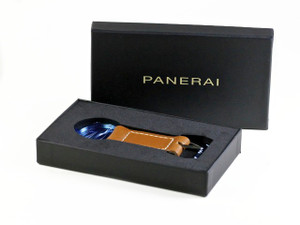 Panerai Keychain Watch Accessory Brown Leather - www.Legendoftime.com - Chicago Watch Center