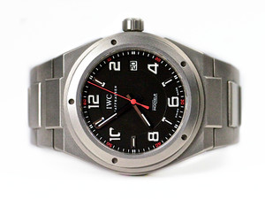 For sale used IWC Watch Ingenieur Automatic AMG Titanium IW322702, available in store Chicago Watch Center and online www.Legendoftime.com