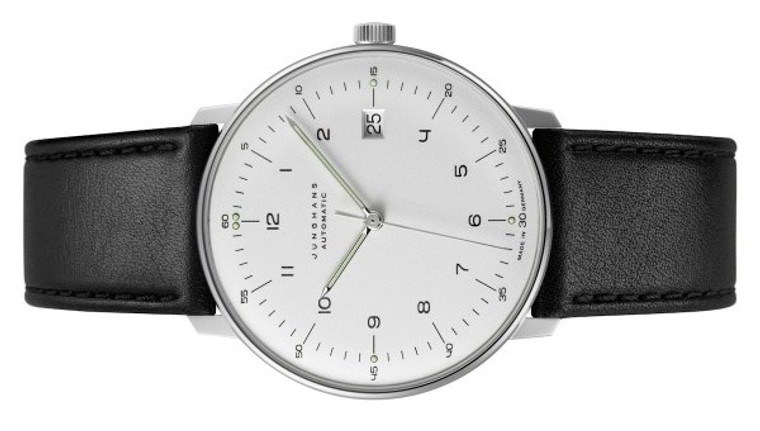 New Junghans Watch Max Bill Automatic 027/4700 available for sale online www.Legendoftime.com and in store Chicago Watch Center