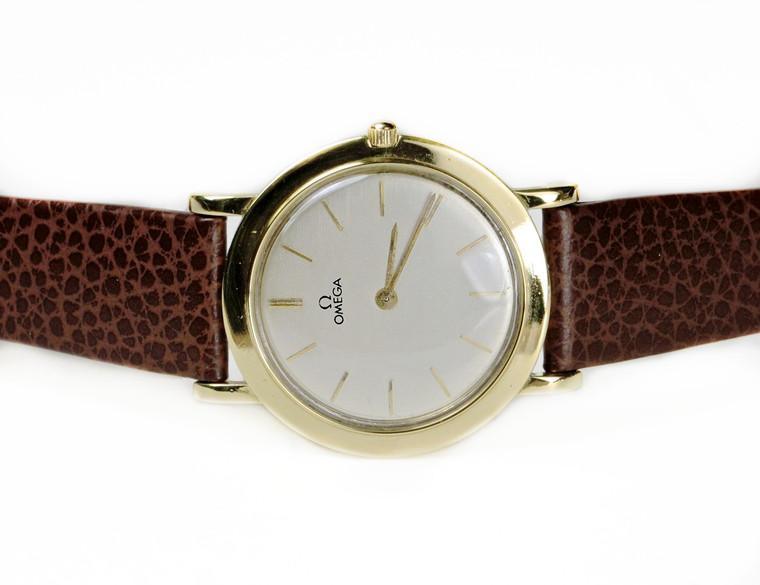Omega Watch - Vintage 18K Yellow Gold 14718 - www.Legendoftime.com - Chicago Watch Center