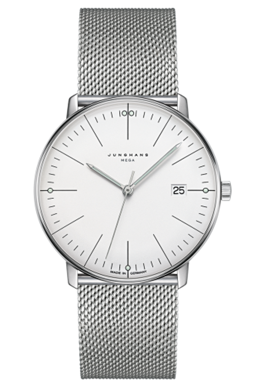 Junghans Max Bill MEGA 058/4821.44 for sale online www. Legendoftime.com and in store Chicago Watch Center - Authorized Junghans USA & Canada Dealers.
