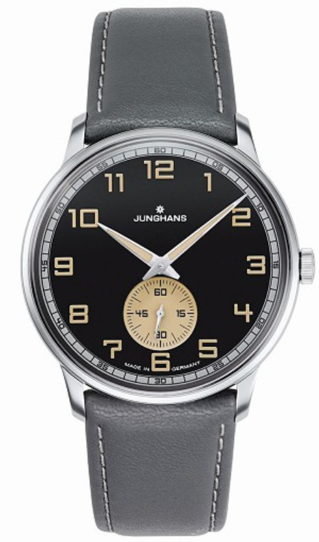 For sale online Junghans Meister Handwound Anthracite-Grey effect lacquer dial 027/3607.00