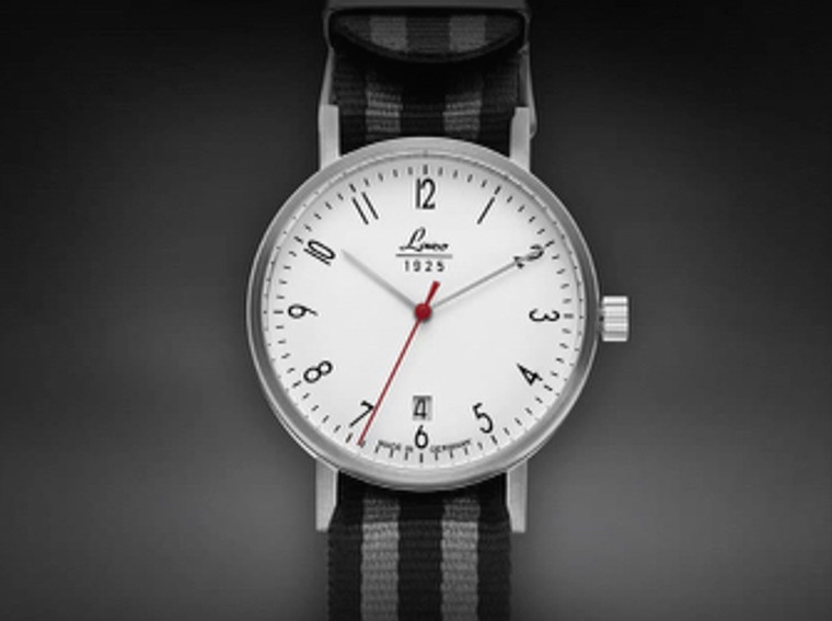 For Sale available online and in store in Chicago : Laco 1925 Mens Classic Bauhaus Watch DRESDEN 40mm . Free Shipping